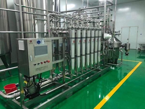 membrane filter in fruit juice production